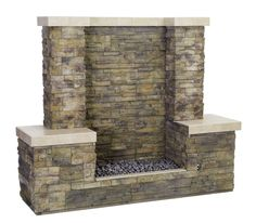 A Firewall provides more heat than other fire features and all the appeal of a fireplace outdoors - Bull Outdoor Products Architectural Landscape Design Backyard Retreat, Fire Pit Backyard, Backyard Landscaping, Outside Fireplace, Backyard Fireplace, Outdoor Rooms, Outdoor Gardens, Outdoor Living, Foyers