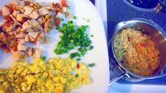 Inspired By eRecipeCards: Chicken Fried Rice... well, not really
