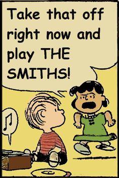 Tira isso agora e toca The smiths