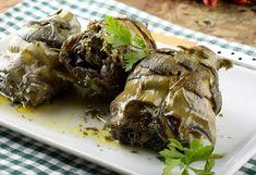 Carciofi al forno Sardinia, Vegetarian Recipes, Recipies, Beef, Cooking, Ethnic Recipes, Food, Artichokes, Contouring