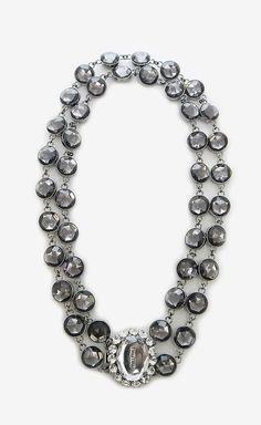 Miu Miu Silver Necklace