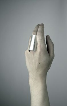 eunhyuk choi. stainless steel + silver ring, 2011.