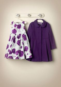 Janie and Jack C's dress and coat
