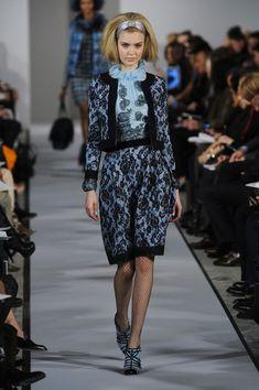 Josephine Skriver | Oscar de la Renta F/W 2012 New York