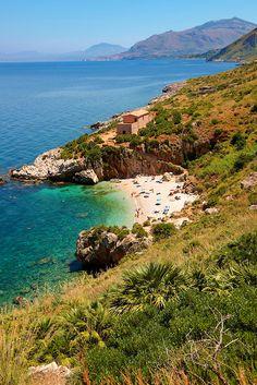 Zingaro nature reserve, Scopello, Castellammare Del Golfo, Sicily, Italy #sicilia #sicily #scopello