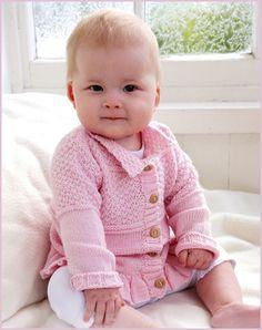 Кофточка для девочки - Для детей до 3 лет - Каталог файлов - Вязание для детей