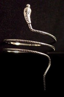 Slither Spiral Snake Armlet