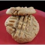 One Bowl Criss-Cross Peanut Butter Cookies