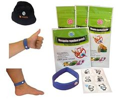 nice All Natural Mosquito Repellent 3 Bracelets and 1 Patch with 6 Stickers - For Sale Check more at http://shipperscentral.com/wp/product/all-natural-mosquito-repellent-3-bracelets-and-1-patch-with-6-stickers-for-sale/