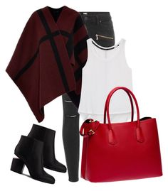 """Fall Outfits"" by mlgjewelry ❤ liked on Polyvore featuring Paige Denim, Burberry, Rebecca Minkoff, Alexander Wang and Prada"