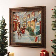 christmas memories framed art print