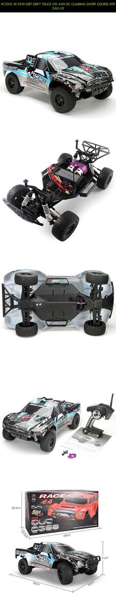 WLTOYS XK K939 DIRT DRIFT TRUCK 1/10 4WD RC CLIMBING SHORT COURSE RTR 2.4G US #parts #drone #tech #gadgets #kit #wltoys #racing #technology #plans #shopping #fpv #camera #products