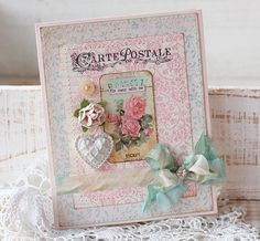 lovely shabby chic card