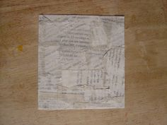Newspaper Print Backgrounds - Masking Tape