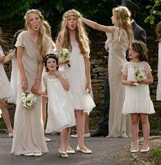 Damas de honor/ Pajes boda Vintage