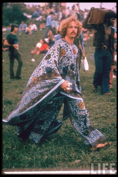 woodstock.  Hahaha.  Did we really look like that?  Folly of youth.