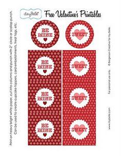 Free Valentine's Printables :)