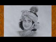 Drawing Sumedh Mudgalkar as Radhakrishna Radha Krishna Sketch, Krishna Drawing, Krishna Painting, Krishna Art, Baby Krishna, Cute Sketches, Art Drawings Sketches Simple, Realistic Drawings, Abstract Pencil Drawings