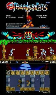 Thundercats Amiga screenshots (1987 Elite)