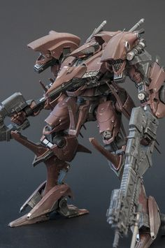 My Armored Core builds so far