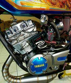 Dt Yamaha, Yamaha Rx 135, Yamaha Bikes, Scrambler, Vespa, Bobber, Cars And Motorcycles, Angry Birds, Vehicles