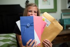 Daughter of God week.  Seven envelopes filled with letters of encouragement and motivation to help young women remember who they truly are and that they are loved by many.