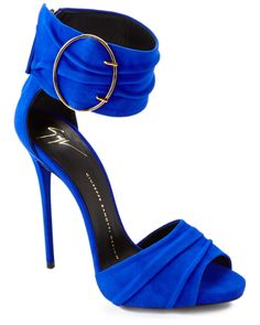 Giuseppe Zanotti Suede Heeled Sandal is on Rue. Shop it now.
