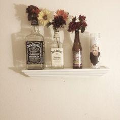 Jack Daniel vases