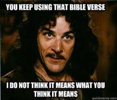 Image result for memes about false biblical statements
