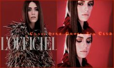 #LOfficielTurkey  August 2013  #CansuDere  Kamera Arkasi