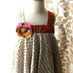 upcycled dress by Chabuki