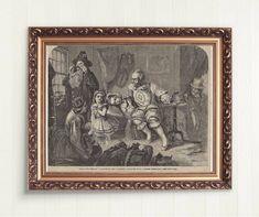 Vintage Art Prints, Antique Prints, Female Painters, Historical Art, Decorative Items, Original Art, The Past, Scene, Etsy Shop