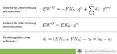 Endwertmethode - www.betriebswirtschaft-lernen.net