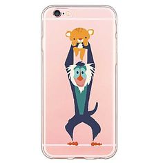 iphone+6s+plus+/+6+plus+/+iphone+6s+/+6+TPU+cartoon+achterkant+transparant+lichaam+/+ultra-dunne+zachte+–+EUR+€+2.93