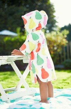 This toddler towel poncho from Mini Boden is too cute -- and perfect for lounging poolside. Mini Boden, Baby Boden, Baby Girls, My Baby Girl, Baby Baby, Fashion Kids, My Little Girl, Little Ones, Cute Kids