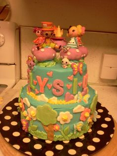 Lalaloopsy....another of Heather's amazing cakes
