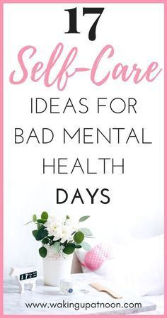 How to make a self care routine for your mental health bad days. Self care can help reduce symptoms of depression, anxiety, stress and other mental illnesses. These self care ideas will make you happier and more positive and these self care products are Mental Health Day, Mental Health Awareness, Women's Health, Health Blogs, Health Resources, Health Coach, Relation D Aide, Low Mood, Depression Symptoms