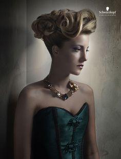 Schwarzkopf Professional Spain. Hairdresser: Cristina Ladron. Photographer: David Arnal.