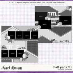 Cindy's Layered Templates - Half Pack 91 by Cindy Schneider