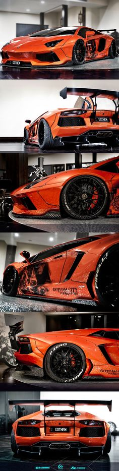 Lamborghini Aventador Liberty Walk by LB Performanc #lamborghini Aventador Liberty Walk by LB Performance