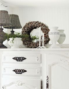 This would work on an old sideboard or buffet I am currently looking for cheap!!