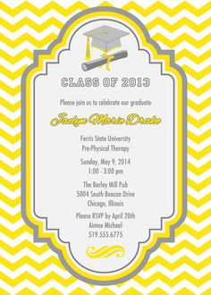 99 best graduation invitations images in 2018 graduation party