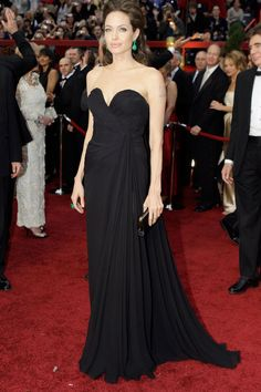 At the 2009 Oscars - where she was nominated for Best Actress for [i]The Changeling[/i] - she wore an Elie Saab dress with Lorraine Schwartz jewellery.