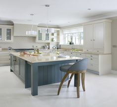 Inframe kitchen doors, Farrow and ball painted kitchens, Farrow & Ball