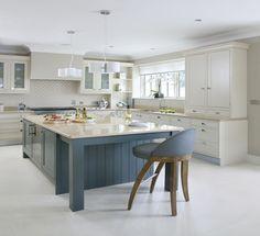 Inframe kitchen doors, Farrow and ball painted kitchens, Farrow & Ball
