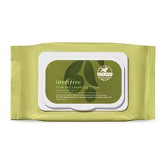 INNISFREE Face Wipes | Korean Beauty Products | Recommended KBeauty Cosmetics for Dry Skin