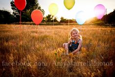 Love the different heights of the balloons Kids Birthday Photography, Children Photography Poses, Love Photography, Birthday Numbers, Inspiration For Kids, Photographing Babies, Photography Tutorials, Photo Sessions, Balloons