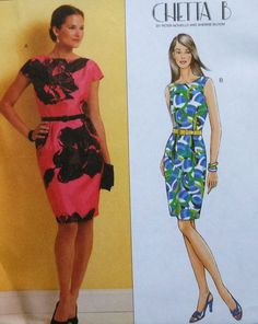 Fitted Dress Sewing Pattern