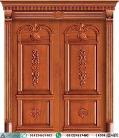 ModelPintu Utama Ukir Mewah Doubel Kayu Jati HP-351 by Furniture Jepara Spesifikasi : Bahan Kayu Jati Finishing Nc Natural Ukuran Daun 90 x 230 cm ( Menyesuaikan ) Terbal Daun Ram 3 cm, 3,5 cm, 4 cm dan 5 cm ( sesuai permintaan ) Kusen 6 x 12 , 6 x 15 , 8 x …