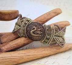 This is awesome! Knot Just Macrame: Dragon Bracelet Giveaway #jewelry